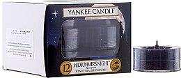 Parfémy, Parfumerie, kosmetika Čajové svíčky - Yankee Candle Scented Tea Light Candles Midsummer's Night