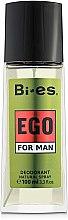 Parfémy, Parfumerie, kosmetika Bi-Es Ego - Parfémovaný deodorant-sprej