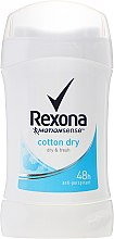 "Deodorant-stick pro ženy ""Cotton Dry"" - Rexona MotionSense Woman Cotton Dry — foto N1"