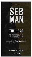 Parfémy, Parfumerie, kosmetika Tvarující gel na vlasy - Sebastian Professional Seb Man The Hero (mini)