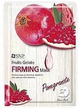 Parfémy, Parfumerie, kosmetika Zpevňující pleťová maska s granátovým jablkem - SNP Fruits Gelato Firming Mask