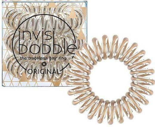 Gumička do vlasů - Invisibobble Original Bronze Me Pretty — foto N1