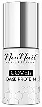 Parfémy, Parfumerie, kosmetika Maskovací podkladová báze pod gel lak - NeoNail Professional Cover Base Protein