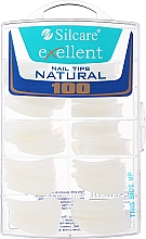 Parfémy, Parfumerie, kosmetika Tipy na nehty, k/k - Silcare Tipsy Exellent Natural