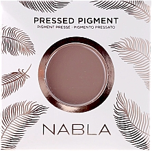 Parfémy, Parfumerie, kosmetika Matné oční stíny - Nabla Pressed Pigment Feather Edition Matte Refill Eyeshadow (náhradní náplň)