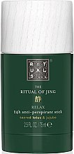 Parfémy, Parfumerie, kosmetika Deodorant-antiperspirant - Rituals The Ritual of Jing Anti-Perspirant Stick