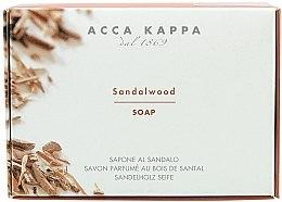 """Parfémy, Parfumerie, kosmetika Mýdlo - Acca Kappa """"Santalové dřevo"""""""