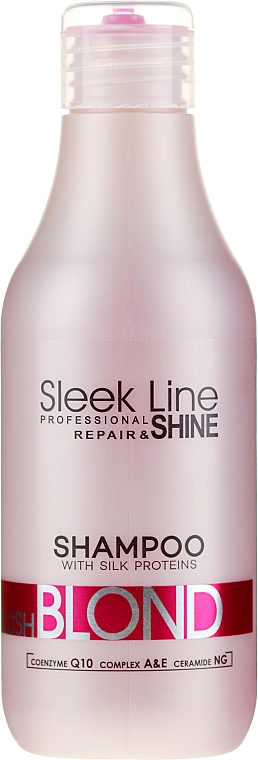 Šampon na vlasy - Stapiz Sleek Line Blush Blond Shampoo