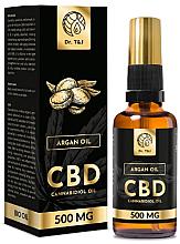 Parfémy, Parfumerie, kosmetika Přírodní arganový olej CBD 500mg - Dr. T&J Bio Oil