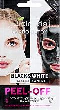 Parfémy, Parfumerie, kosmetika Maska na obličej - Bielenda Carbo Detox Black & White Mask