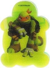 Parfémy, Parfumerie, kosmetika Dětská koupelová houba Želvy ninja Michelangelo 2 - Suavipiel Turtles Bath Sponge