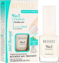 Parfémy, Parfumerie, kosmetika Komplex 9v1 na nehty Zdraví nehtů - Revuele Nail Therapy