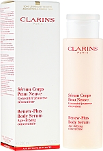 Parfémy, Parfumerie, kosmetika Sérum - Clarins Renew-Plus Body Serum