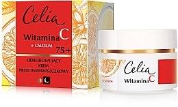 Parfémy, Parfumerie, kosmetika Krém na obličej proti vráskám den a noc 75+ - Celia Witamina C