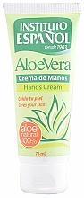 Parfémy, Parfumerie, kosmetika Krém na ruce - Instituto Espanol Aloe Vera Hand Cream
