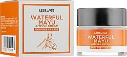 Parfémy, Parfumerie, kosmetika Pleťový krém s koňským olejem - Lebelage Waterful Mayu Ampule Cream