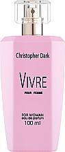 Parfémy, Parfumerie, kosmetika Christopher Dark Vivre - Parfémovaná voda