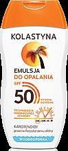 Parfémy, Parfumerie, kosmetika Ochranná emulze na opalování SPF50 - Kolastyna