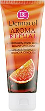 Parfémy, Parfumerie, kosmetika Regenerační krém na ruce - Dermacol Aroma Ritual Hand Cream Belgian Chocolate