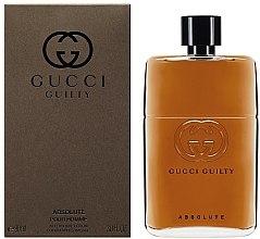 Parfémy, Parfumerie, kosmetika Gucci Guilty Absolute - Balzám po holení