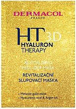 Parfémy, Parfumerie, kosmetika Regenerační peelingová maska na obličej - Dermacol Hyaluron Therapy 3D Revitalising Peel-off Mask