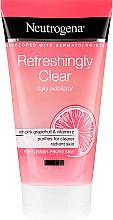 Parfémy, Parfumerie, kosmetika Pleťový peeling s růžovým grepem a vitamínem C - Neutrogena Refreshingly Clear Daily Exfoliator