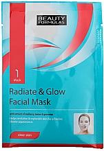 Parfémy, Parfumerie, kosmetika Pleťová maska Záře - Beauty Formulas Radiate & Glow Facial Mask