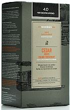 Parfémy, Parfumerie, kosmetika Barva na vlasy - Korres Cedar Men's Colour Treatment Hair Colorant