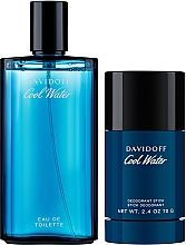 Parfémy, Parfumerie, kosmetika Davidoff Cool Water - Sada (edt/125ml+deo/stick/70g)