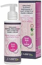 Parfémy, Parfumerie, kosmetika Organický krém proti striím - Azeta Bio Organic During-Pregnancy Anti Stretch Mark Cream