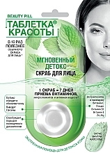 Parfémy, Parfumerie, kosmetika Pleťový peeling Tableta krásy. Okamžitý detox - Fito Kosmetik Beauty Pill