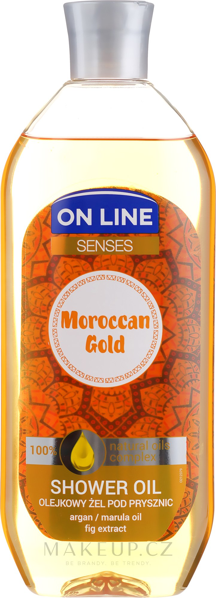 Sprchový olej - On Line Senses Shower Oil Moroccan Gold — foto 500 ml