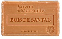 """Parfémy, Parfumerie, kosmetika Přírodní mýdlo """"Santalové dřevo"""" - Le Chatelard 1802 Sandal Wood Soap"""