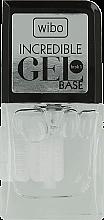 Parfémy, Parfumerie, kosmetika Podkladová báze pod gel lak - Wibo Incredible Gel Base