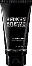 Parfémy, Parfumerie, kosmetika Modelující pasta na vlasy - Redken Brews Liquid Matte Paste