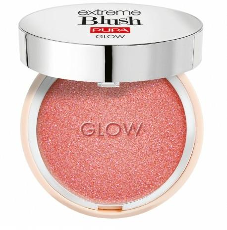 Kompaktní tvářenka s efektem třpytění - Pupa Extreme Blush Glow
