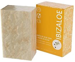 Parfémy, Parfumerie, kosmetika Mýdlo s olivovým olejem - Ibizaloe Aloe Vera Soap Olive Oil