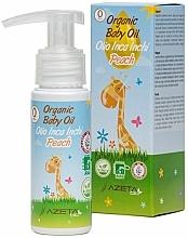 Parfémy, Parfumerie, kosmetika Organické dětské broskvové máslo se Sacha inchi - Azeta Bio Organic Baby Peach Oil Inca Inchi
