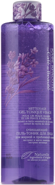 Čisticí gel-tonikum na obličej pro mastnou a problematickou plet' - Le Cafe de Beaute Face Cleaning Gel-Tonic — foto N1
