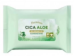 Parfémy, Parfumerie, kosmetika Čisticí ubrousky - Premium Cica Aloe Cleansing Wipes