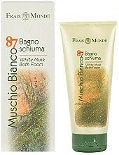 Parfémy, Parfumerie, kosmetika Frais Monde Muschio Bianco 87 White Musk Bath Foam - Pěna do koupele