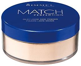 Parfémy, Parfumerie, kosmetika Sypký pudr - Rimmel Match Perfection Silky Loose Powder