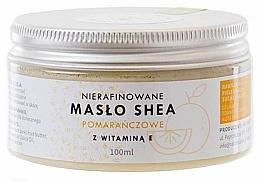 Parfémy, Parfumerie, kosmetika Bambucké máslo nerafinované s vitamínem E - Natur Planet Orange Shea Butter Unrefined & Vitamin E