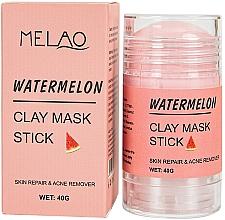 Parfémy, Parfumerie, kosmetika Melounová maska na obličej - Melao Watermelon Clay Mask Stick