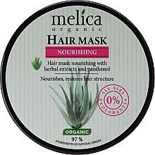 Parfémy, Parfumerie, kosmetika Maska na vlasy s bylinným extraktem a panthenolem - Melica Organic Nourishing Hair Mask