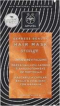 Parfémy, Parfumerie, kosmetika Maska obnovující pro lesk vlasů s pomerančem - Apivita Shine & Revitalizing Hair Mask With Orange