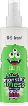 Parfémy, Parfumerie, kosmetika Sprej na rozčesání vlasů - Silcare Quin S.O.S. Monster Mess Kids Hair Spray