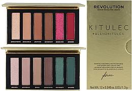 Parfémy, Parfumerie, kosmetika Sada - Makeup Revolution Kitulec #BlendKitulca Shadow Palette (2xsh/palette/7.8g)