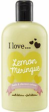 Parfémy, Parfumerie, kosmetika Sprchový krém pro koupel - I Love... Lemon Meringue Bath And Shower Cream