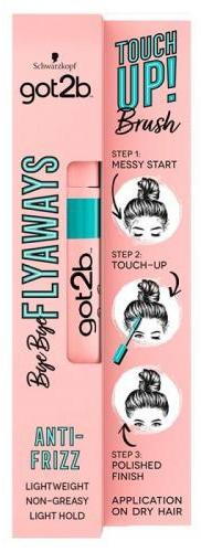 Prostředek na styling tenkých vlasů - Schwarzkopf Got2b Bye Bye Flayaways Touch Up Brush